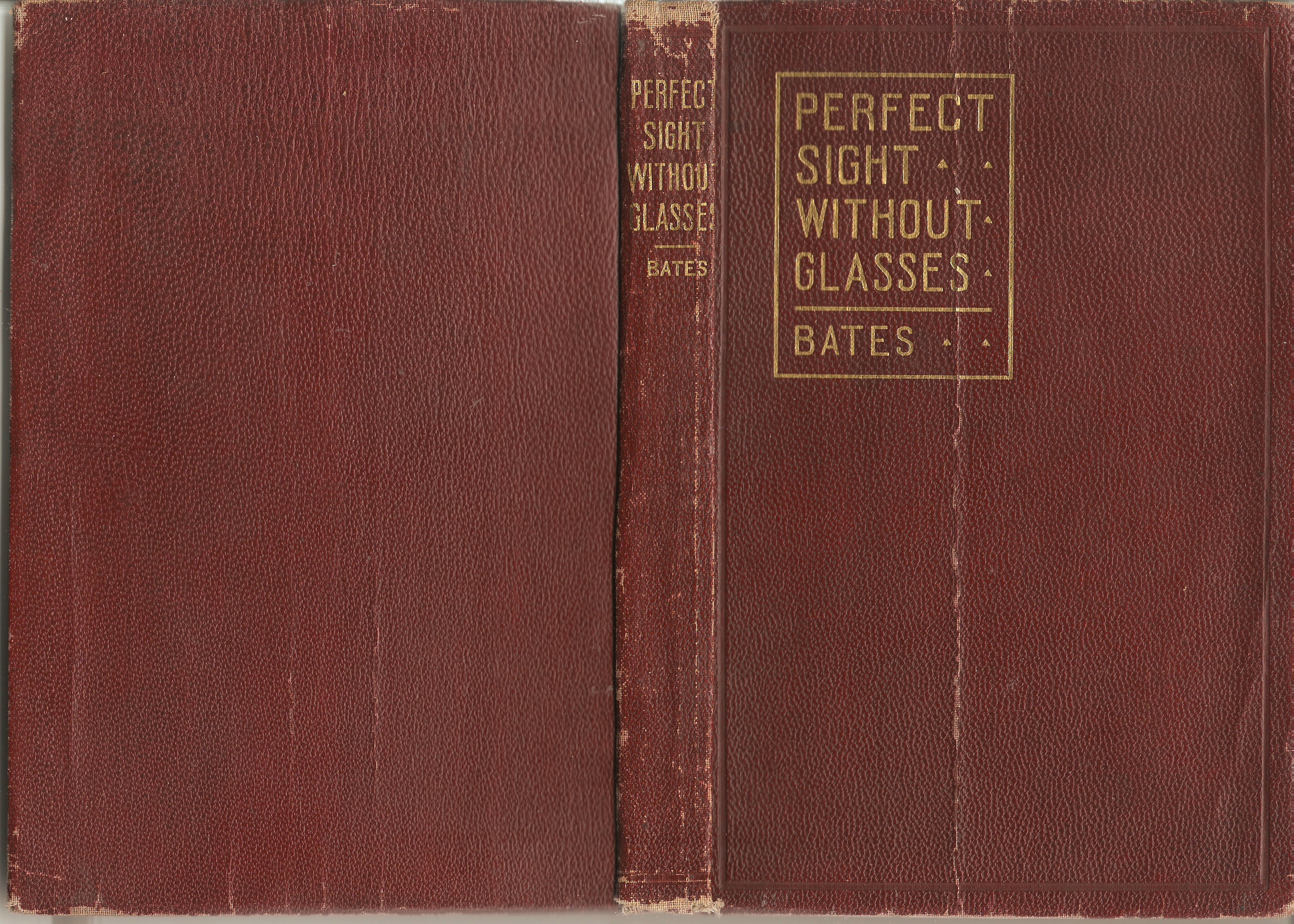 Perfect Sight Without Glasses 1919-1920 Red Edition
