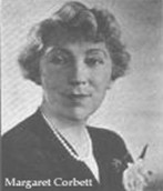 Margaret Corbett - Teacher trained by Dr. Bates. Fought in court cases to presrve all peoples right to teach, practice The Bates Method