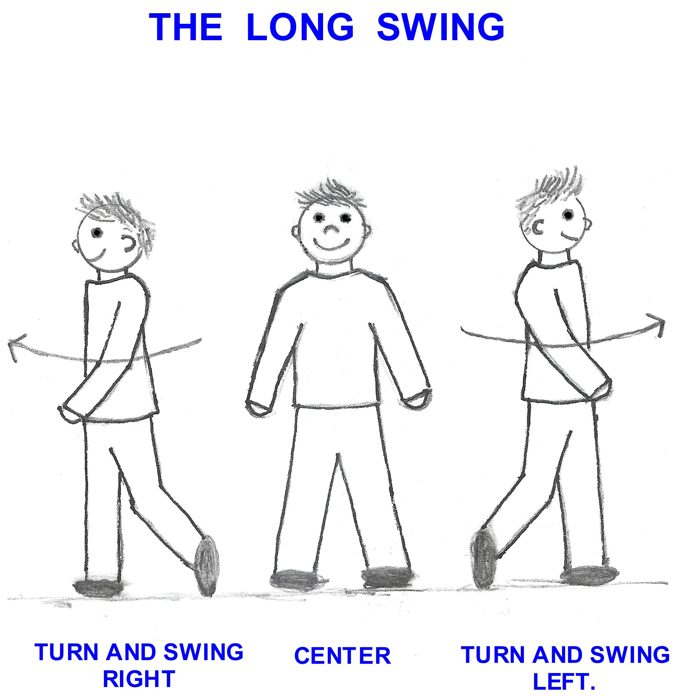 The Long Swing to Relax the Eyes, Mind, Body and return the Eyes to Normal Movment - Shifting, Saccades